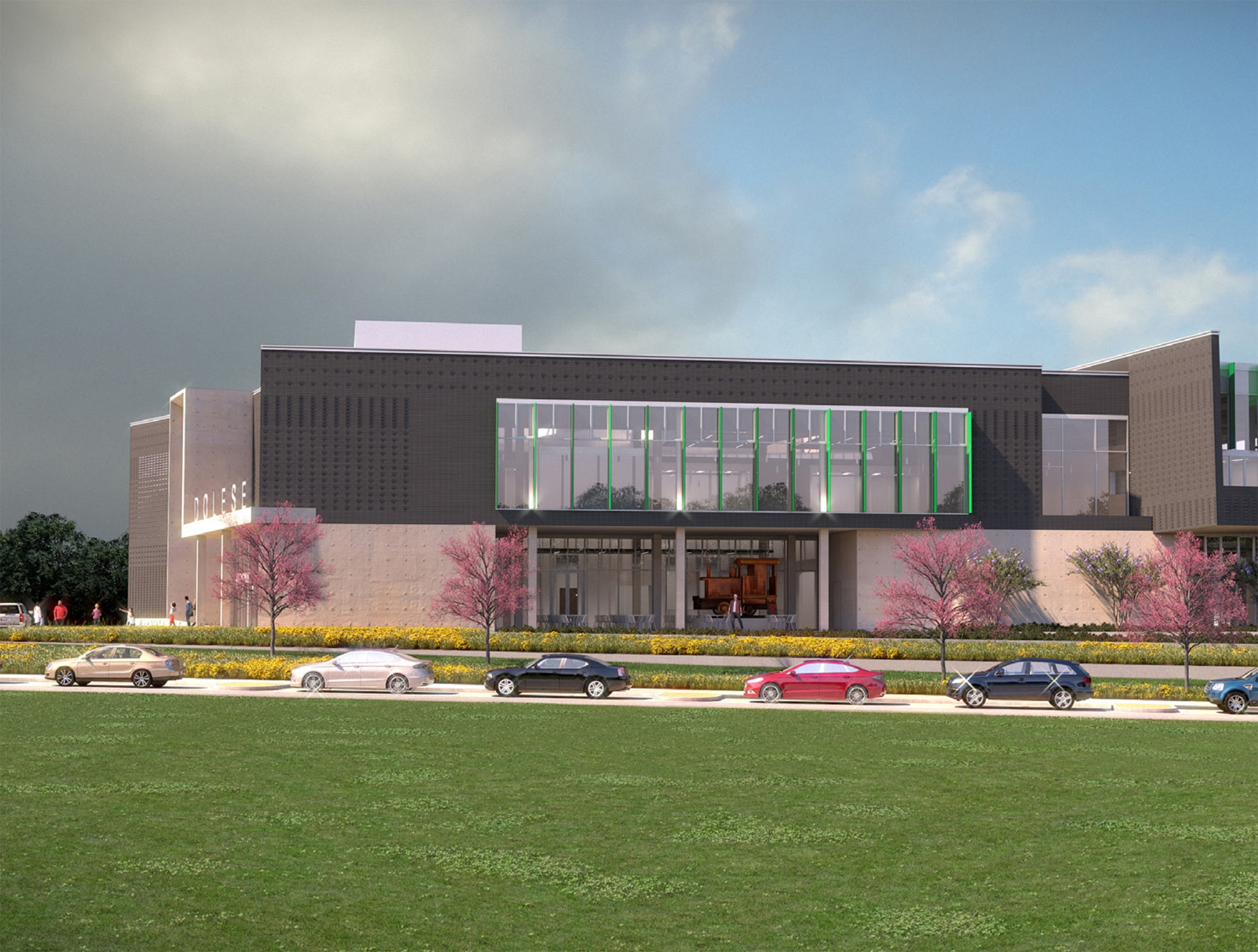 Rendering of dolese hq